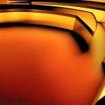 3D Orange Nvidia Claw Logo HD Wallpaper