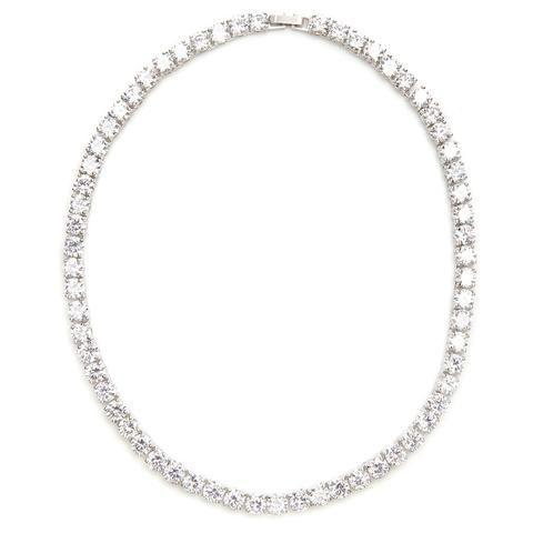 Alyssa Crystal Tennis Necklace