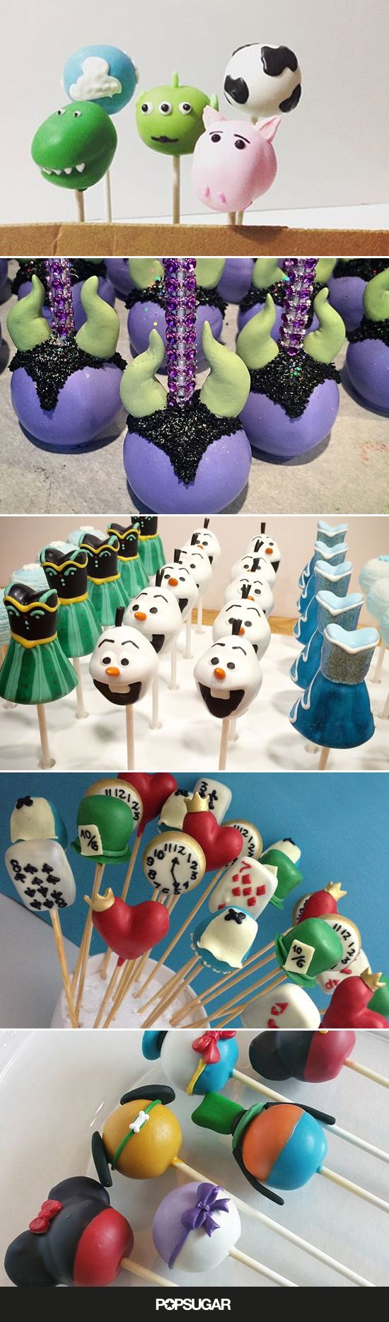 Drool Over Your Favorite Disney Characters With These 33 Cake Pop Designs