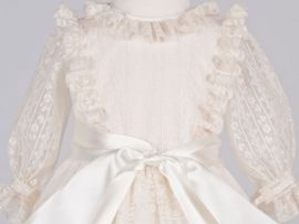 Zafire Christening Gown, Handmade Christening Gowns made with attention to the detail.