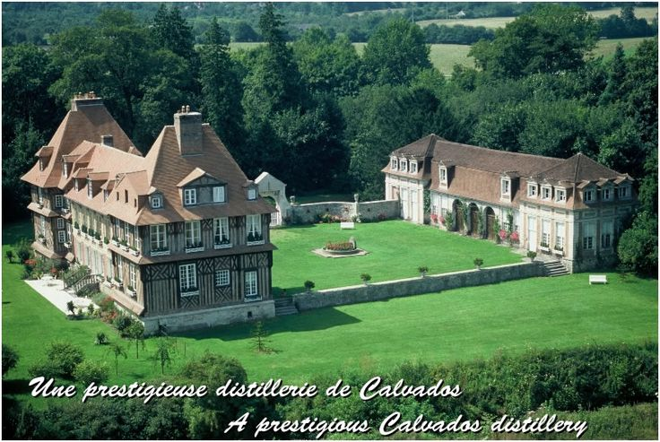 Château du Breuil - vue aérienne
