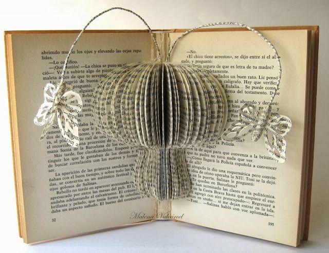 Book Art by Malena Valcárcel