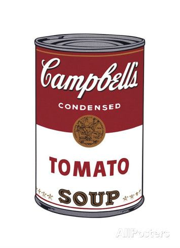 Campbell's Soup I: Tomato, c.1968 Giclee Print by Andy Warhol at AllPosters.com