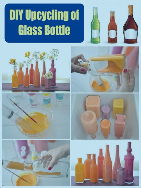 DIY Upcycling of Glass Bottle