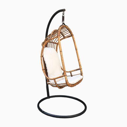 Schwebender Italienischer Mid Century Sessel Aus Rattan U0026 Bambus, 1950...  Jetzt Bestellen Unter: Https://moebel.ladendirekt.de/garten/gartenmoebel/  ...