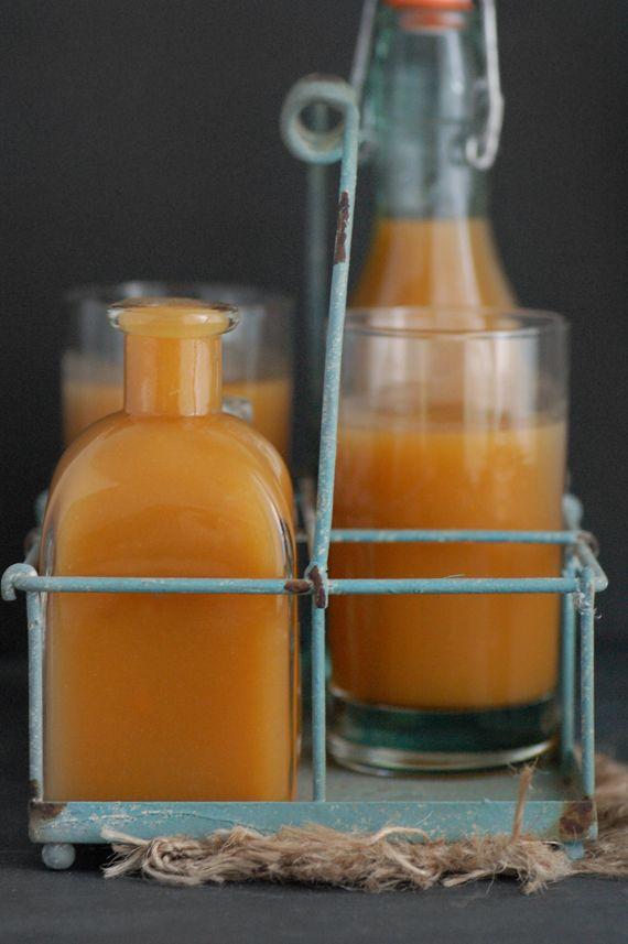 Smoothie d'automne : courge, carotte et châtaigne