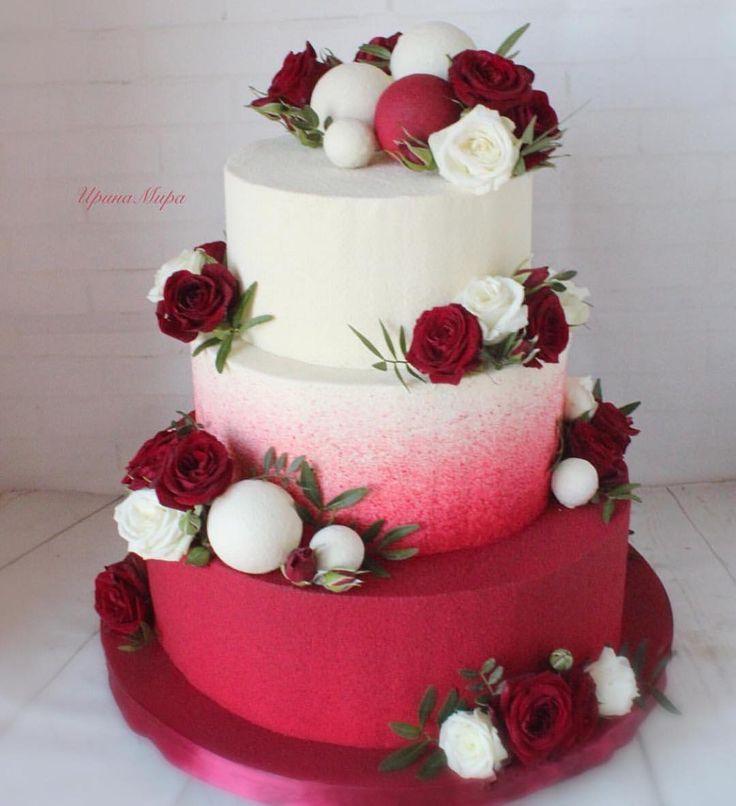 Repost @irina_mira_cake Was denkst du über deine Hochzeitstorte? #Cake … – #airina #cake #in …   – Cake Decorating Cupcake Ideen