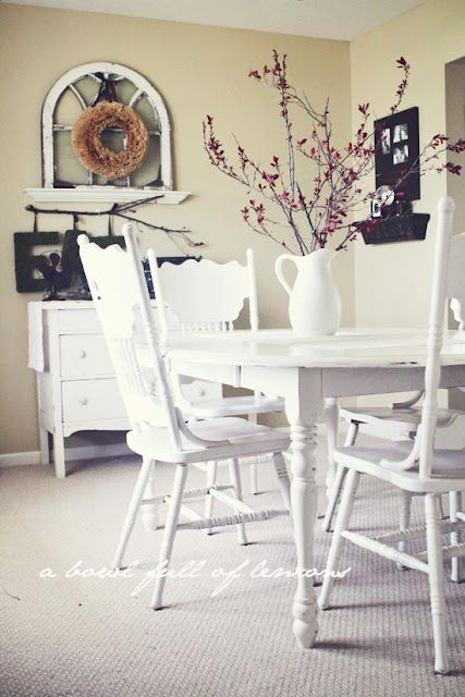 Love the Red berries with the white. | Home Decor | Pinterest | Latte ...