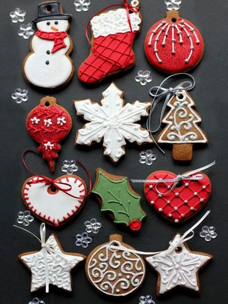 Edible Gingerbread Christmas Tree Decorations : Best images about holiday special occasion projects