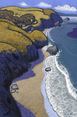 Llangrannog: by Chris Neale.I've spent many days on this beautiful beach in Wales.