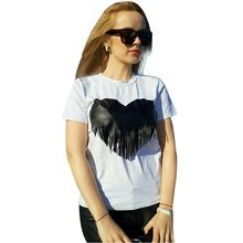 Tag a friend who would love this!|    Most recent arriving Hot Sale Cotton T Shirt  Tops Women 2017 Summer Style Tshirt Women O-neck Shorts  Sleeve T-shirts Tee Shirt Femme now at a discounted price $US $13.99 with free delivery  you can easily find that product not to mention much more at our favorite website      Purchase it right now right here…