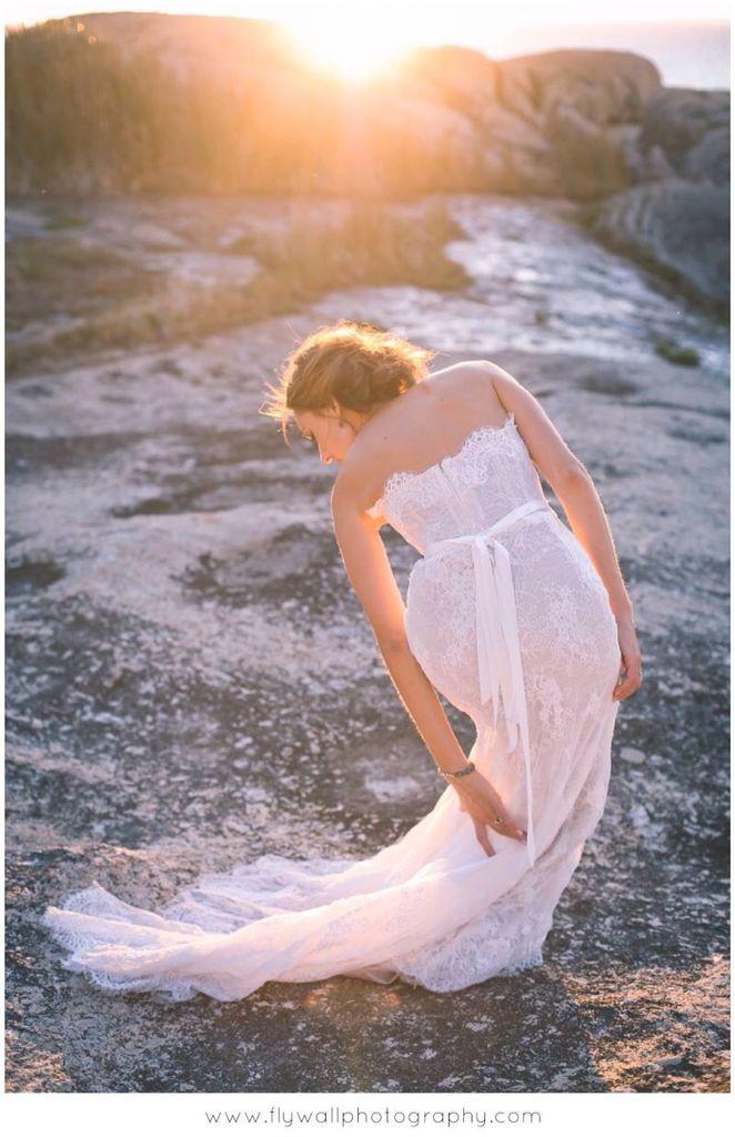 Kobus Dippenaire wedding dress
