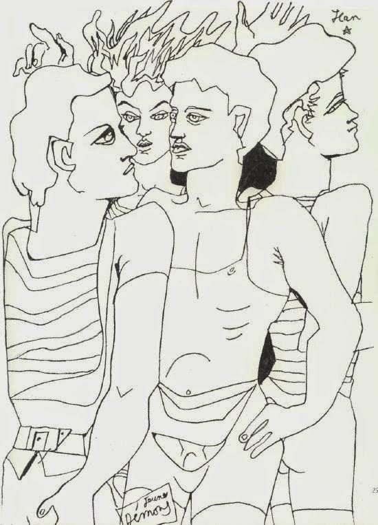 Jeunes démons, by Jean Cocteau