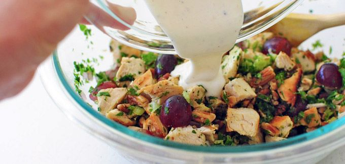 Pecan Chicken Salad recipe - from Tablespoon!