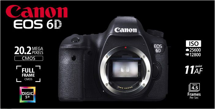CANON EOS 6D Body without Wifi and GPS Rp.16.470.000.- | Garansi PT.Datascrip