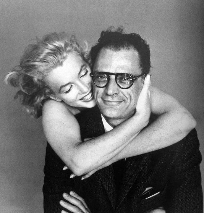 Marilyn Monroe and Arthur Miller, 1957, by Richard Avendon