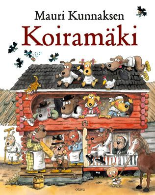 Mauri Kunnaksen Koiramäki by Mauri Kunnas (born February 11, 1950), Finnish cartoonist and children's author. - http://en.wikipedia.org/wiki/Mauri_Kunnas