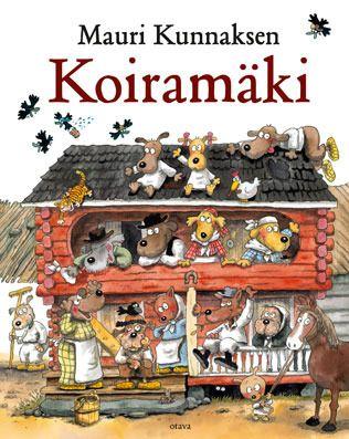 Mauri Kunnaksen Koiramäki by Mauri Kunnas (born February 11, 1950), Finnish cartoonist and children's author. - http://en.wikipedia.org/wiki/Mauri_Kunnas