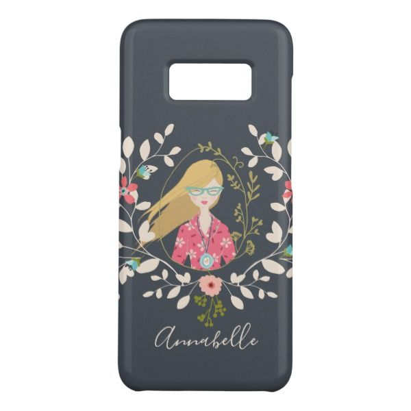 Blonde Long Hair Girl - Selfie Portrait Case-Mate Samsung Galaxy S8 Case Custom Brandable Electronics Gifts for your buniness #electronics #logo #brand