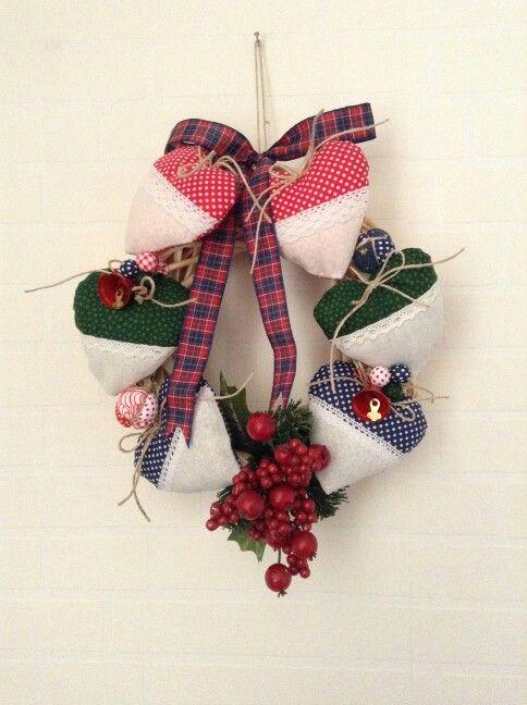 Yeni yıl çelenk - christmas wreath