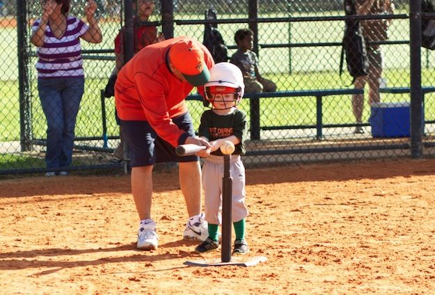 Tee Ball Coaching Basics - A Checklist. Everything the first time t-ball coach needs to know to have a successful first season.