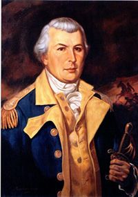 Nathanael Greene,Revolutionary War American Major General, was born August 7, 1742. He is remembered for his successful military command in the Southern Campaign of the Revolutionary War that forced British General Charles Cornwallis to abandon the Carolinas and relocate to Virginia.