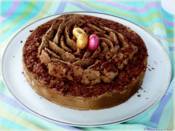Il faut bien que je vous en parle de celui-là. Non pas de Christophe Felder mais de ce magnifique gâteau dont il partage la recette dans un magazine spécialisé. Et je ne vais pas attendre l'été, les grandes chaleurs pour que vous saliviez devant les photos...