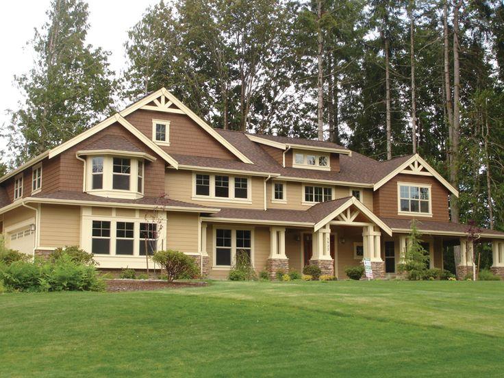 477 best Craftsman House Plans images on Pinterest House plans