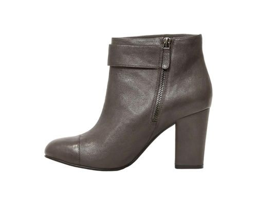 3.0 Bootie Charcoal Leather  www.pediped.at