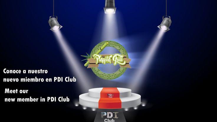 Conoce a nuestro nuevo miembro en PDI Club, Playita Grill