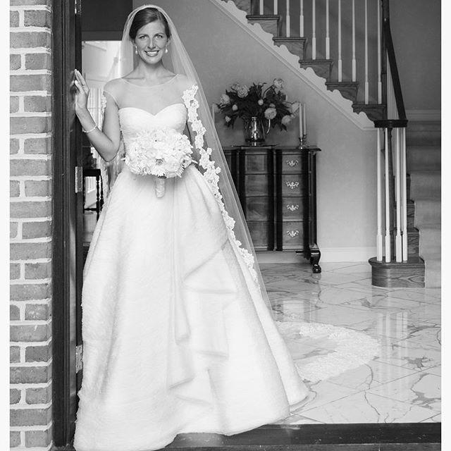#wonderful #wedding #portrait of one of our #brides in the #celebration #weddingdress ! #peterlangner #madeinitaly #handmade #abitodasposa #noivas #robedemariée ##novia #silk #organza #instawedding #bridalgown