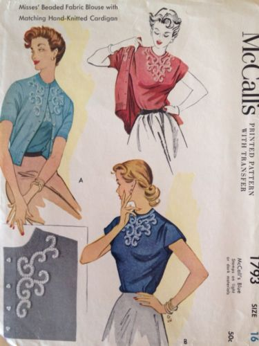 54 Best 50 S Tops Blouses Images On Pinterest Fashion