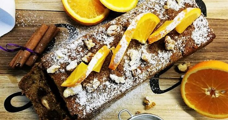 Cuketovo – pomarančový chlebík