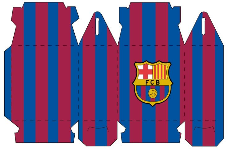 Kits personalizados para festas, aniversários, casamento, chá de bebe, chá de panela, chá de bar, batizados etc.  Kit personalizado para festa infantil Kit Futebol Barcelona