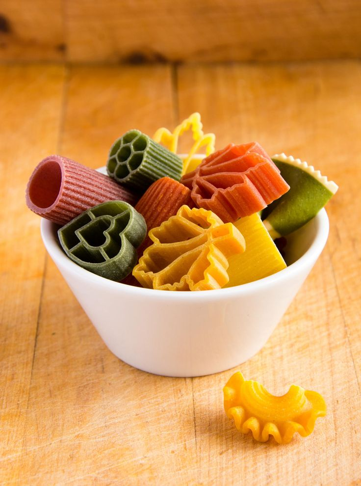 Multicolored italian pasta in bowl by Petr Nutil on 500px