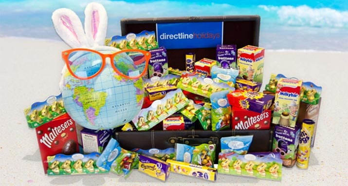 Win a crate of chocolate - http://www.directline-holidays.co.uk/blog/easter-chocolate-egg-giveaway/#