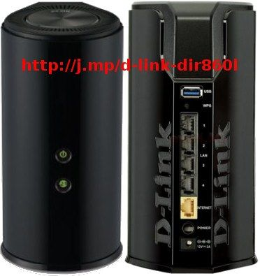 Router Wireless D-Link DIR-860L, AC1200, Dual Band Cloud, 4 antene interne