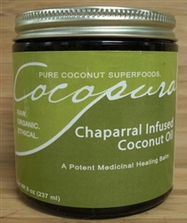 Chaparral Infused Coconut Oil