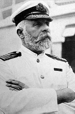 "Captain Edward John Smith, ship's captain. He was the officer in command of Titanic & died when the ship sank. It is not known how Smith died on the night of the sinking. Historians claim that Smith was on the bridge at 2:13 am, seven minutes before the final sinking & went down with the ship. Some sources state that Smith quietly wandered off to the ship's wheelhouse, while others say he was actively present in the radio room. Equally apocryphal is his last statement to the crew, ""Be…"