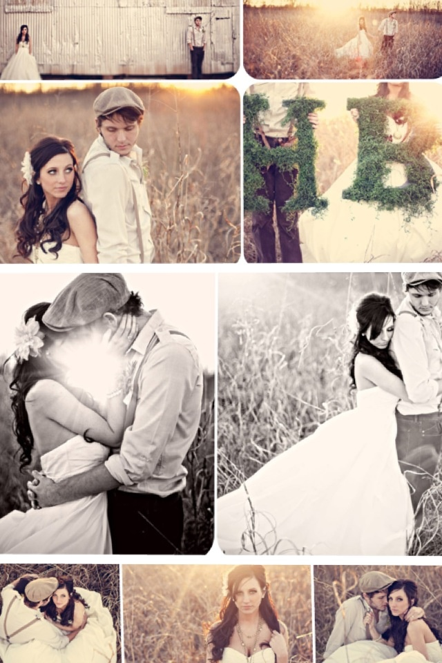 Wedding photography with a touch of creativity.