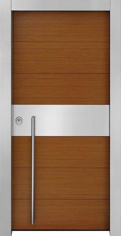 Θωρακισμένες πόρτες ασφαλείας » Σειρά Tekna » με φυσικό ξύλο.