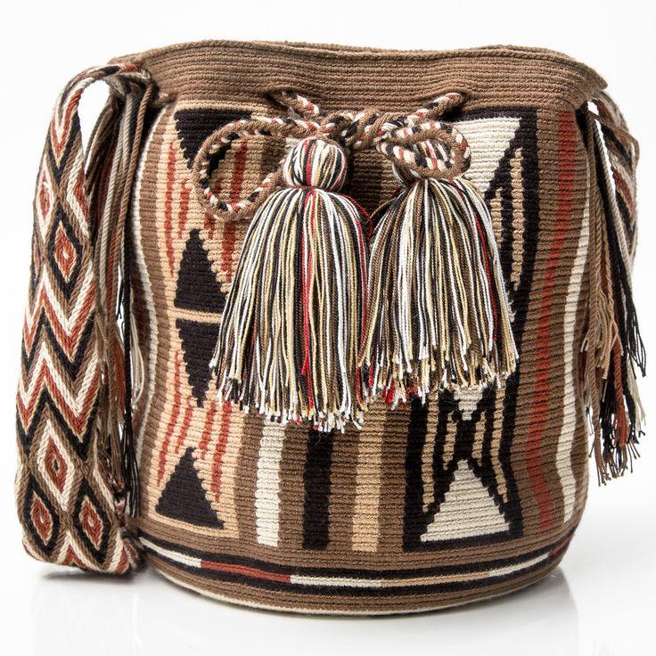 Cabo Wayuu Mochila | WAYUU TRIBE – AUTHENTIC HANDMADE WAYUU MOCHILA BAGS | WAYUU TRIBE