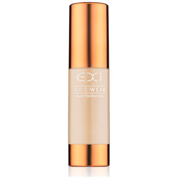 EX1 Cosmetics Invisiwear Liquid Foundation 30ml (Various Shades)