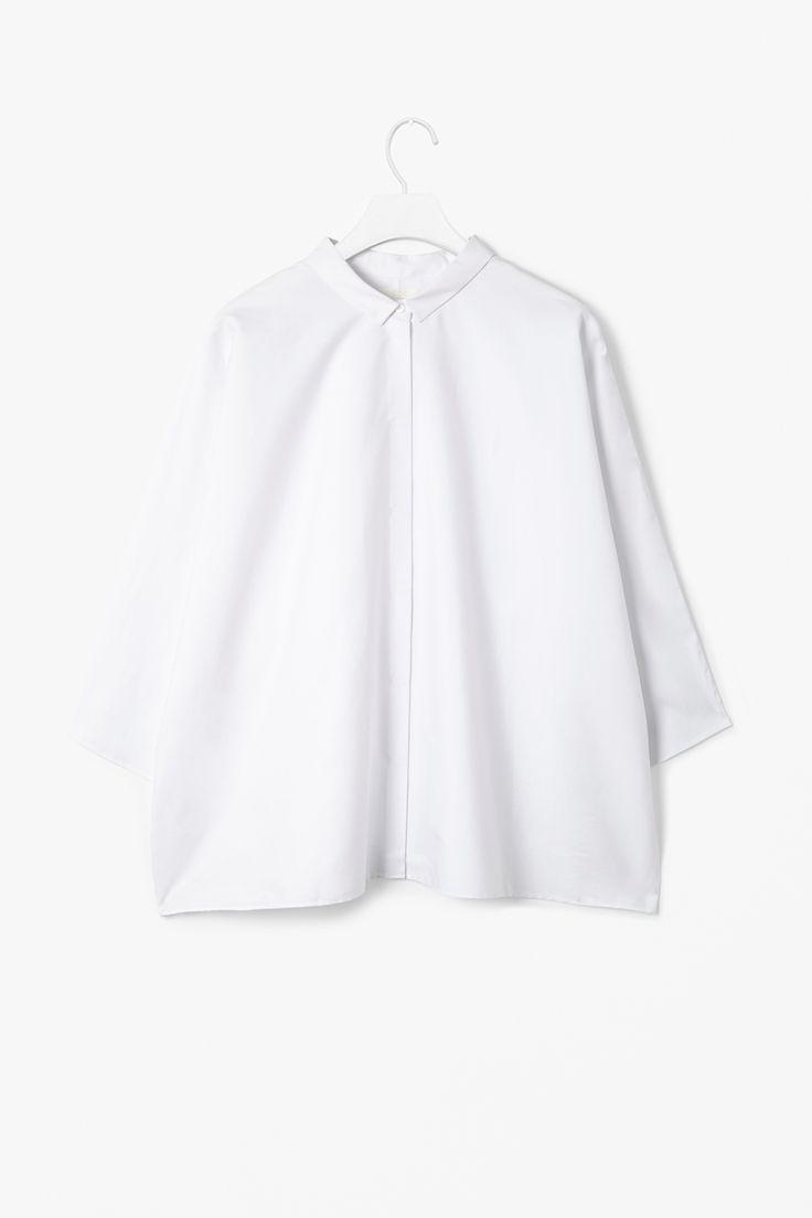 #shirt #cos #white