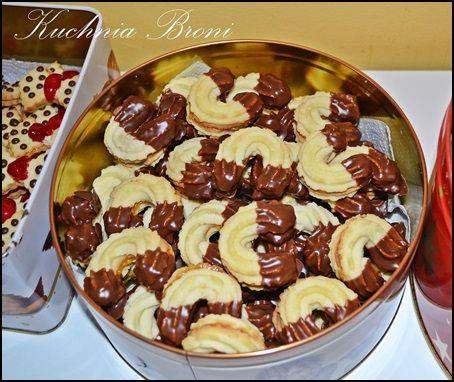 Ciasteczka maślane półksiężyce
