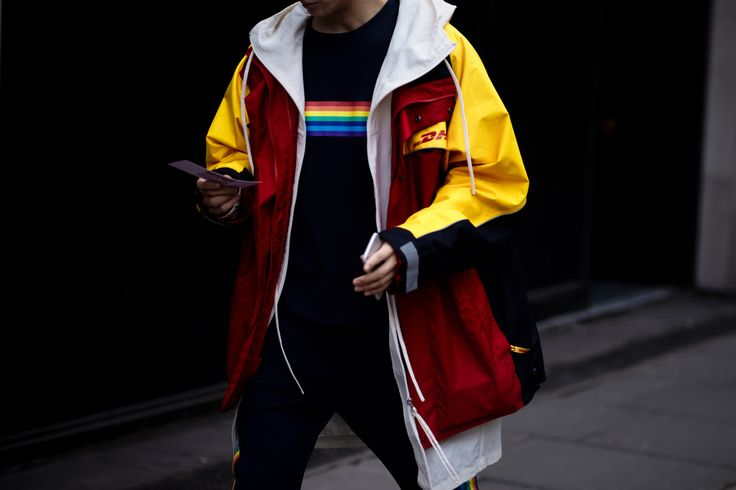 London Collections Men: A$AP Rocky, Oliver Cheshire, and More Best Dressed Street Style Stars - -Wmag
