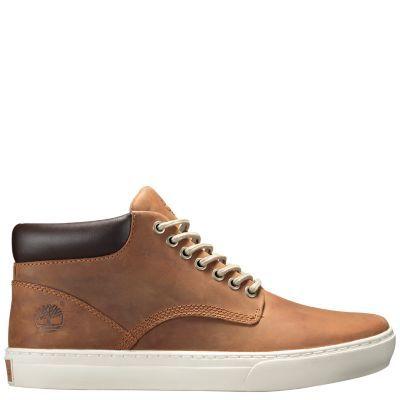 Timberland Men's Adventure Cupsole Chukka Shoes (Medium Brown Full-Grain)