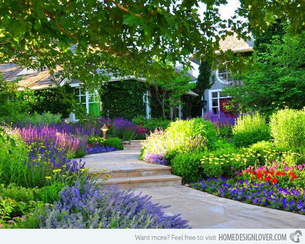 Simple Front Yard Landscaping Ideas | simple yet beautiful traditional landscape ... | Front Yard Ideas
