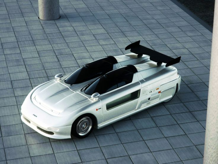 Italdesign Aztec Concept Car (1988) Of Which Fewer Than 50 Were Built; Audi Amazing Pictures