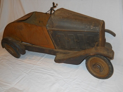 unidentified pedal car